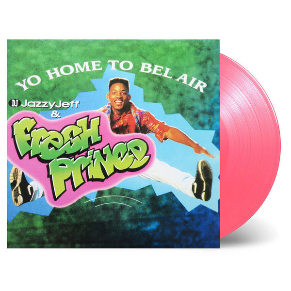 DJ Jazzy Jeff x The Fresh Prince: Yo Home To Bel Air: Limited Edition Marbled Pink Vinyl