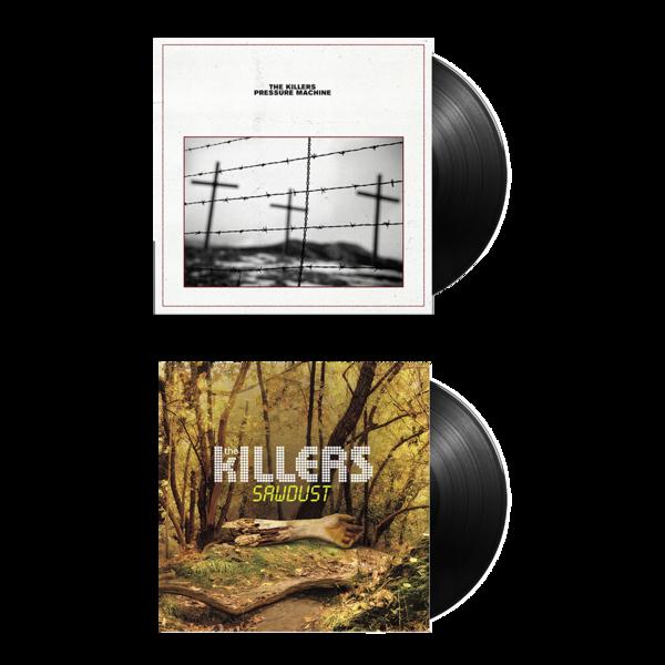 The Killers: PRESSURE MACHINE + SAWDUST Vinyl Bundle