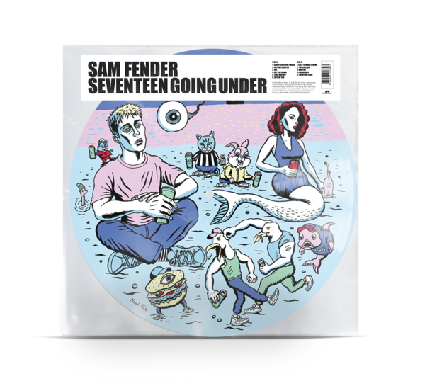 Sam Fender: Seventeen Going Under Ltd Edition Picture Disc