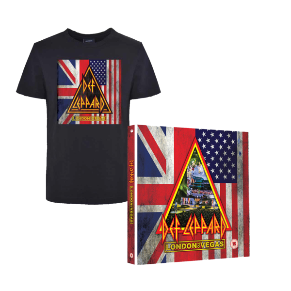 Def Leppard: BLU-RAY SHIRT BUNDLE