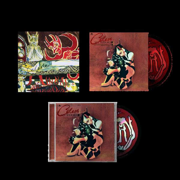 Celeste: The CD Set & Signed Illustrated Art Card
