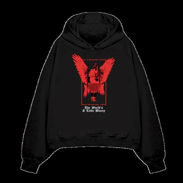Billie Eilish: Billie's Angel Hooded Sweatshirt