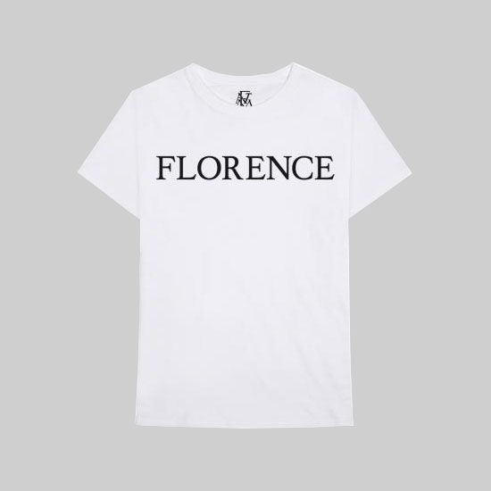 Florence + The Machine: Florence Black T-Shirt - S