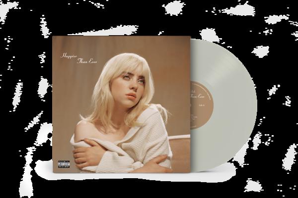 Billie Eilish: 'Happier Than Ever' Exclusive Cool Grey Vinyl