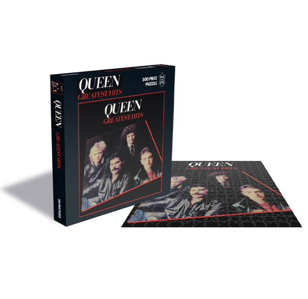 Queen: Greatest Hits (500 Piece Jigsaw Puzzle)