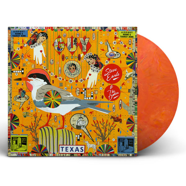 Steve Earle & The Dukes: Guy: Red/Orange Swirl Vinyl 2LP