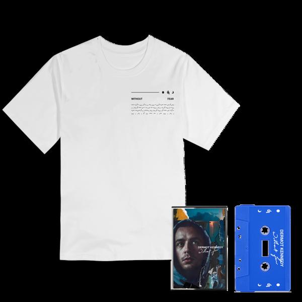 Dermot Kennedy: Limited Edition: White Orbit Tee + Blue Cassette