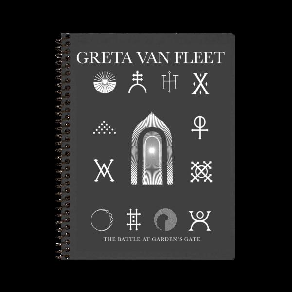 Greta Van Fleet : Post-Consumer Notebook