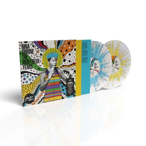 Nina Simone: The Montreux Years: Limited Turquoise, Yellow & White Splatter Vinyl