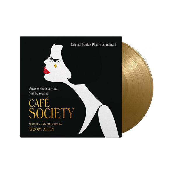 Original Soundtrack: Café Society: Limited Edition Solid Gold Vinyl