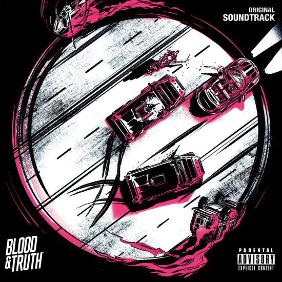 Joe Thwaites & Jim Fowler: Blood & Truth: Original Game Soundtrack: Limited Edition Transparent Pink and Clear Double Vinyl