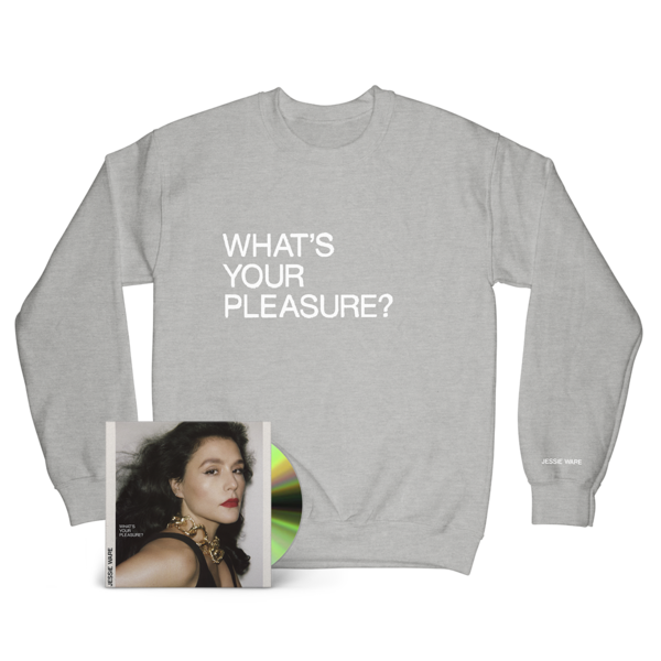 Jessie Ware: CD & What's Your Pleasure? Crew Neck Sweat