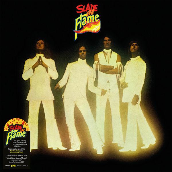 Slade: Slade In Flame: Limited Yellow & Red Splatter Vinyl LP