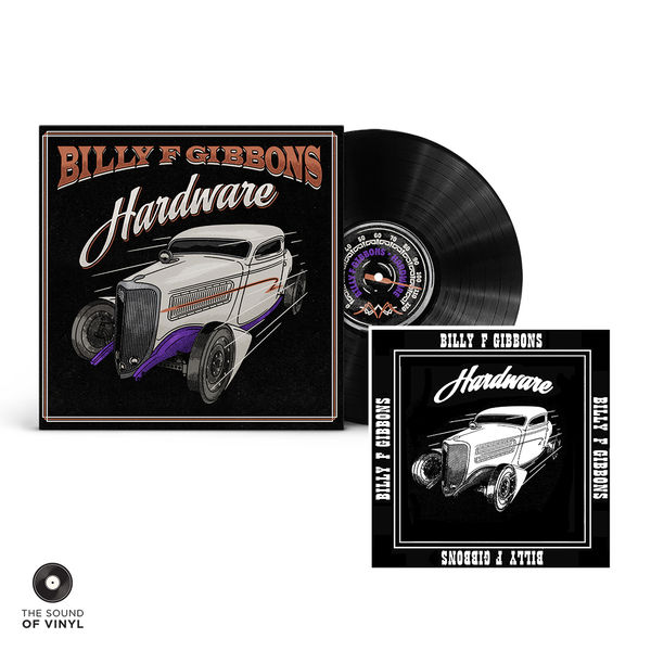 Billy F Gibbons: Hardware Vinyl & SOV Exclusive Bandana: Limited Edition Bundle