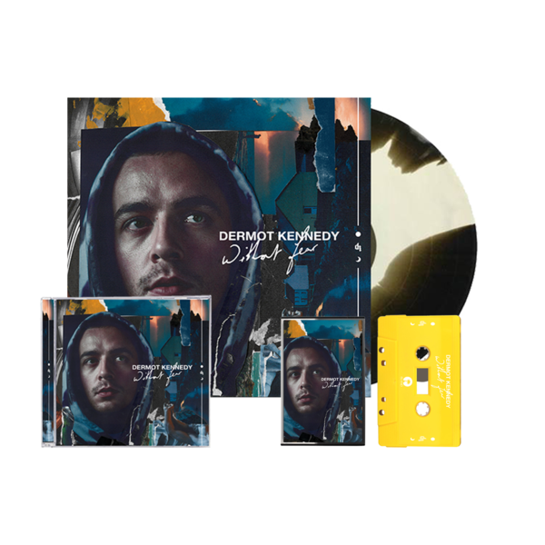 Dermot Kennedy: Without Fear: Marbled LP, Cassette + CD