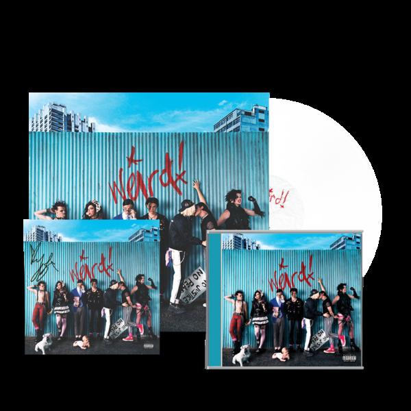 Yungblud: Weird! Vinyl, CD & Signed Art Card
