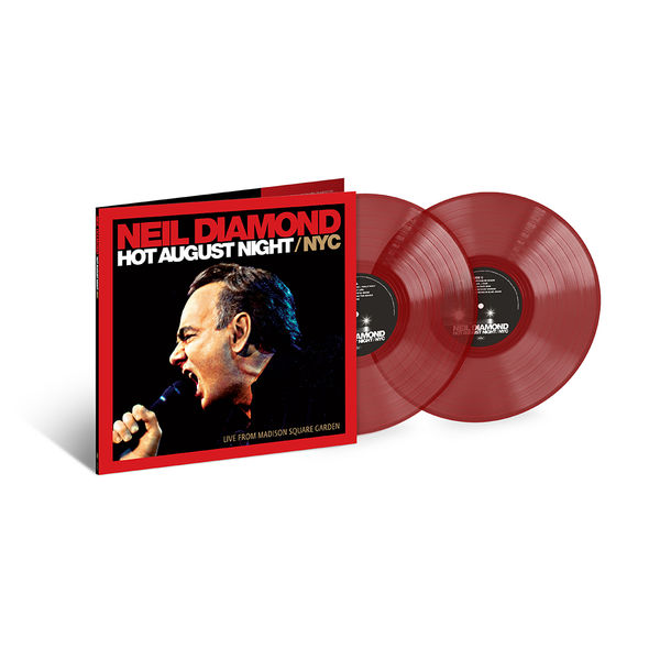 Neil Diamond: Hot August Night NYC / Live From Madison Square: Exclusive Double Red Vinyl