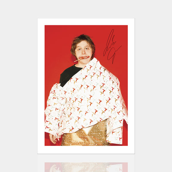 Lewis Capaldi: Limited Edition Signed Red Print