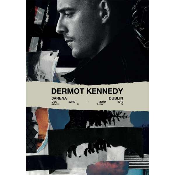 Dermot Kennedy: Limited Edition Dublin Show Print