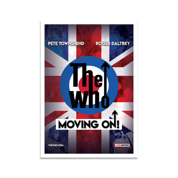 The Who: Moving On Programme