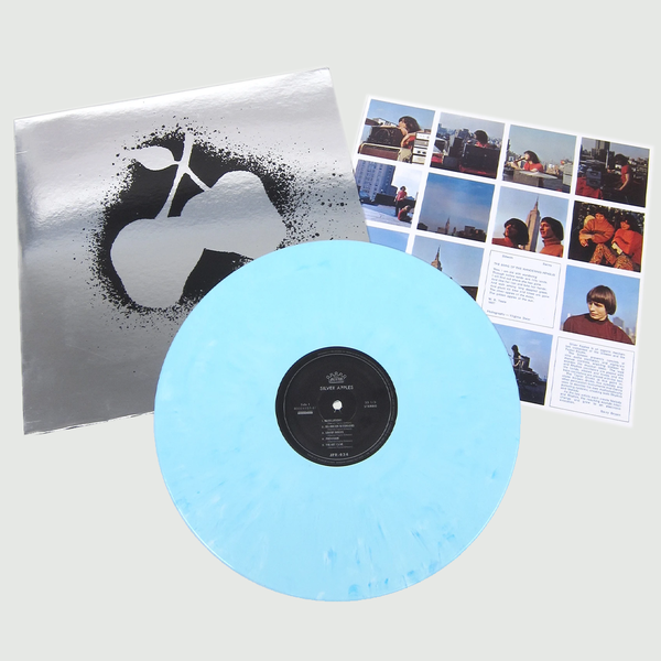 Silver Apples: Silver Apples: Limited Edition Blue Vinyl w/ Foil Jacket