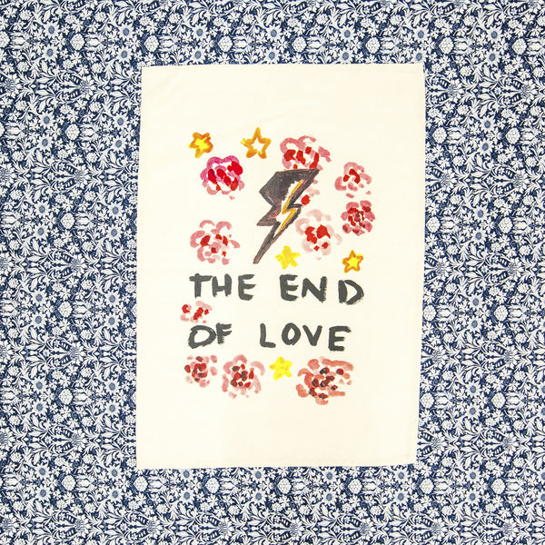 Florence + The Machine: The End Of Love Tea Towel