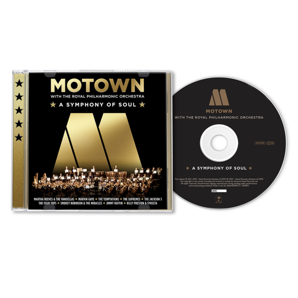Various Artists: Motown: A Symphony Of Soul (with the Royal Philharmonic Orchestra): CD