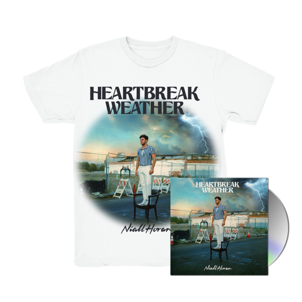 Niall Horan: CD & HEARTBREAK WEATHER WHITE T-SHIRT