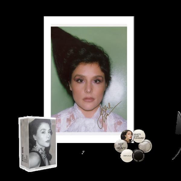Jessie Ware: Double Cassette, Signed Print, Badge Set