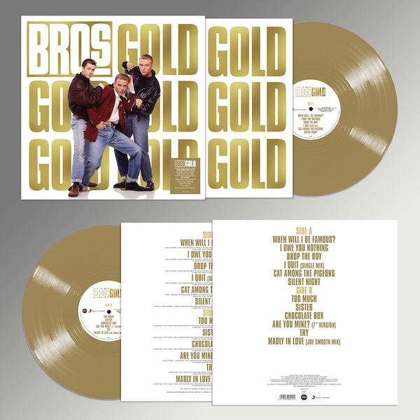 Bros: Gold: Limited Edition Colour Vinyl