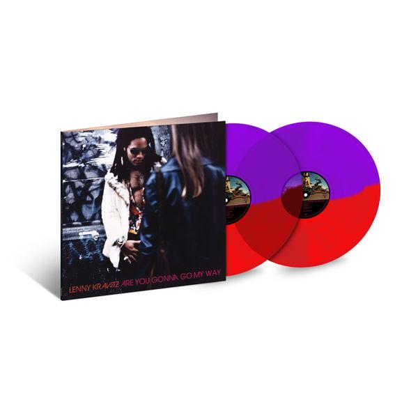 Lenny Kravitz: Are You Gonna Go My Way: Exclusive Split Transparent Red + Transparent Purple Edition