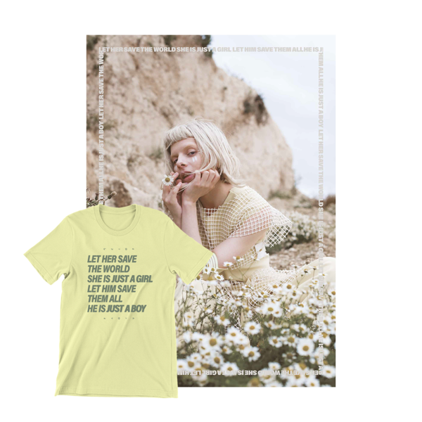 Aurora: Apple Tree t-shirt & Signed Apple Tree Poster Bundle