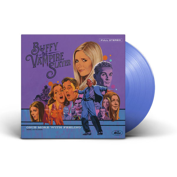 Original Soundtrack: Buffy The Vampire Slayer - One More Time With Feeling: Limited Edition Transparent Blue Vinyl