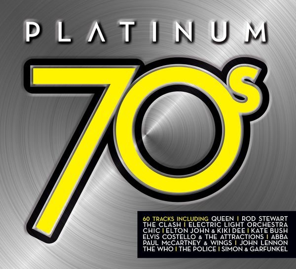 Various Artists: Platinum 70s: Triple CD