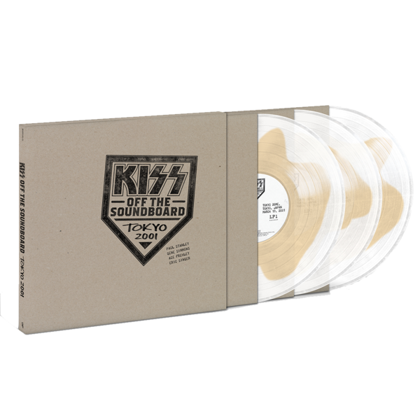 Kiss: Off The Soundboard - Tokyo Dome – Tokyo, Japan 3/13/2001: The Sound Of Vinyl Exclusive Coloured Vinyl