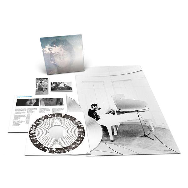 John Lennon: Imagine: Exclusive White Coloured Vinyl