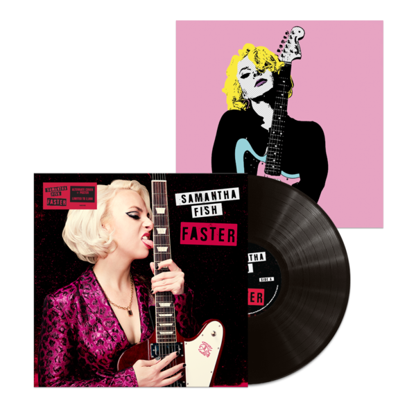 Samantha Fish: Faster: The Sound Of Vinyl Signed  Exclusive Alternative Cover Artwork + Print Bundle