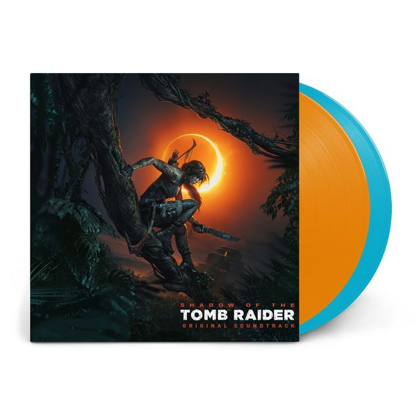 Original Soundtrack: Shadow Of The Tomb Raider: Limited Edition Orange & Blue Vinyl