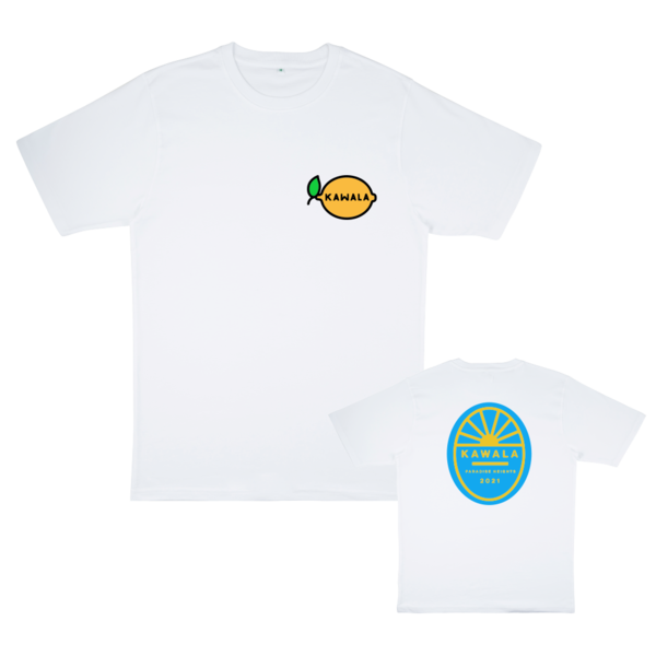 Kawala: Embroidered Lemon / Graphic T-shirt