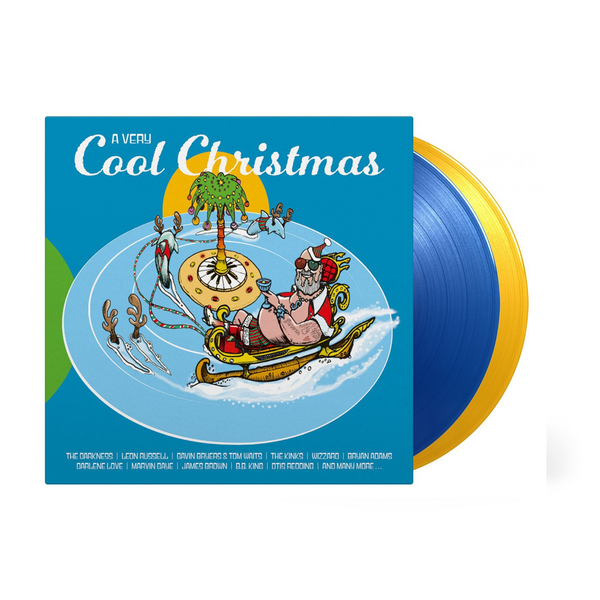 Various Artists: A Very Cool Christmas: Limited Edition Transparent Yellow & Blue Vinyl
