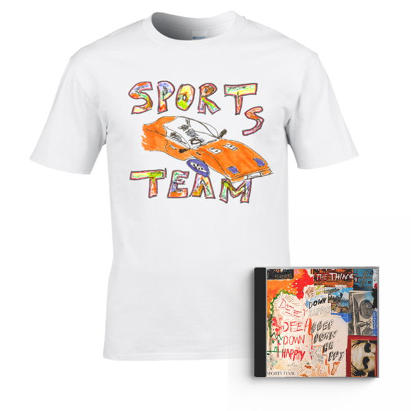 Sports Team: Deep Down Happy: CD + Tee