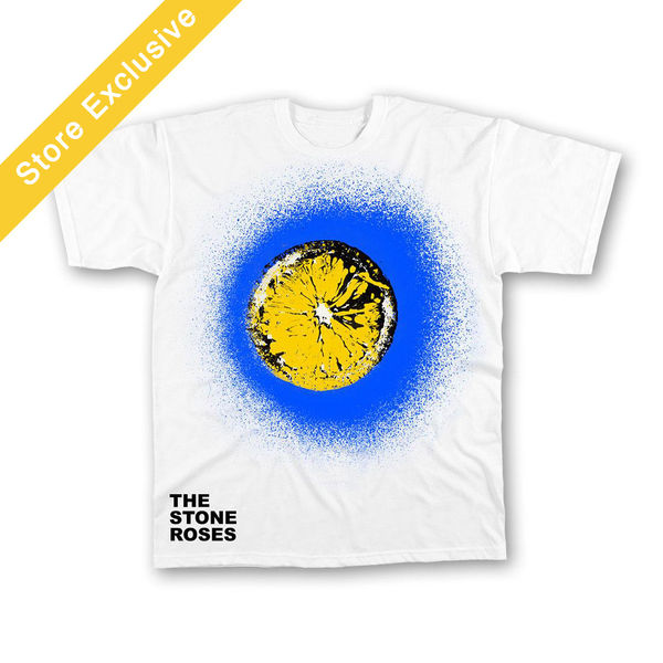 The Stone Roses: Blue Spray Lemon T-Shirt