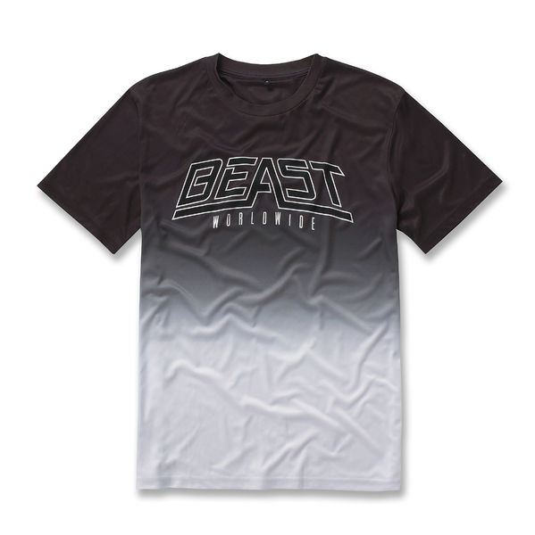 Beast Worldwide: Dip Dye T-shirt (Black/White)