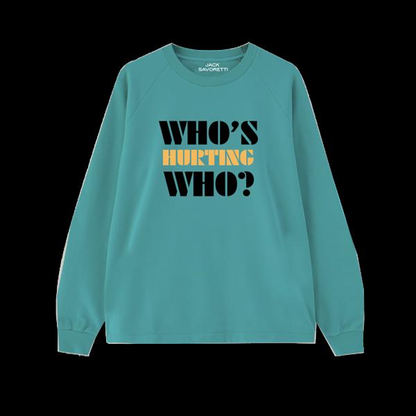 Jack Savoretti: Who's Hurting Who Sweater (Green)