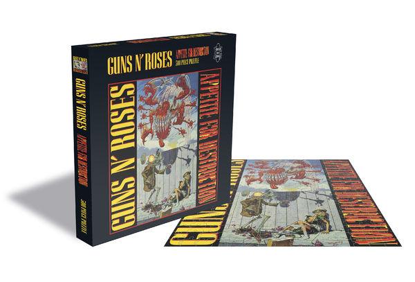 Guns N' Roses: GUNS N' ROSES - APPETITE FOR DESTRUCTION 1 JIGSAW PUZZLE
