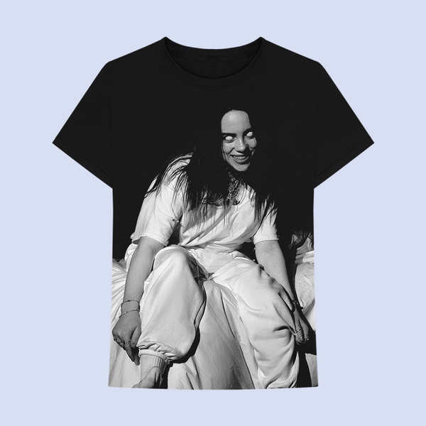 Billie Eilish: Where Do We Go? Jumbo Print T-shirt