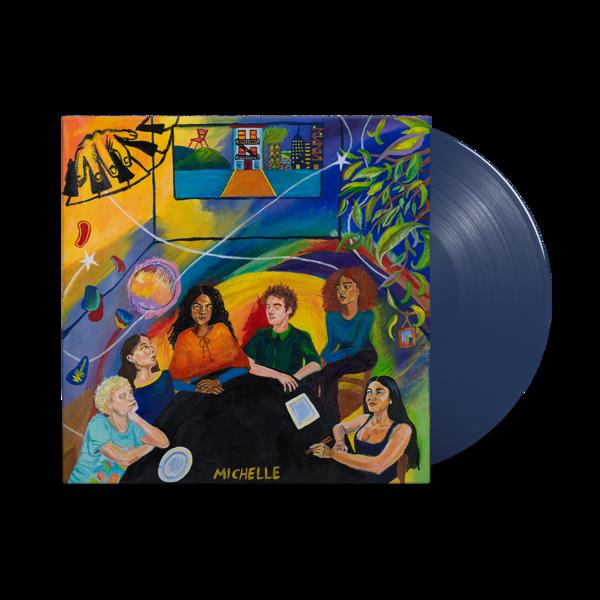MICHELLE: AFTER DINNER WE TALK DREAMS: Limited Edition Sea Blue vinyl LP