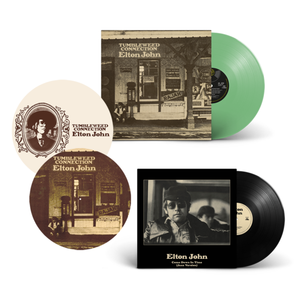 Elton John: Tumbleweed Connection: Exclusive Green Vinyl + Come Down In Time (Jazz Version): Exclusive 10