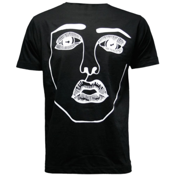 Disclosure: The Face: Black + White Tee - S