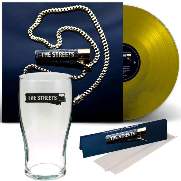 The Streets: None Of Us Are Getting Out Of This LIVE Alive: 2 PINT CUP, RIZLA + GOLD LP